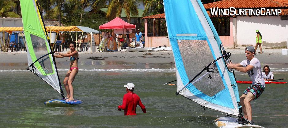 Обучение виндсерфингу, Карибы