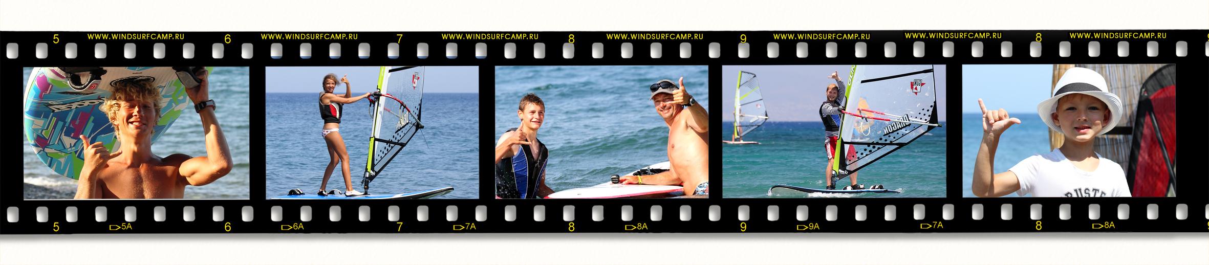 Виндсерфинг в Греции на острове Кос